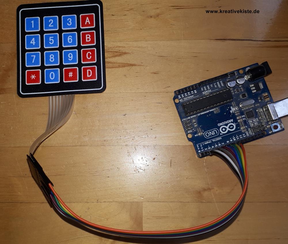 Tutorial matrix tastatur