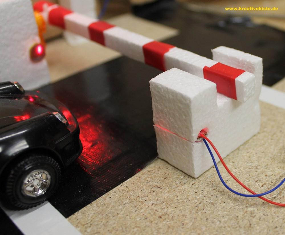 Perfekt 3 Arduino Parkaus Schranke Selber Basteln