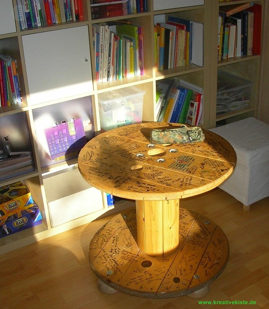 Kabeltrommeltisch - Tisch kabeltrommel ...