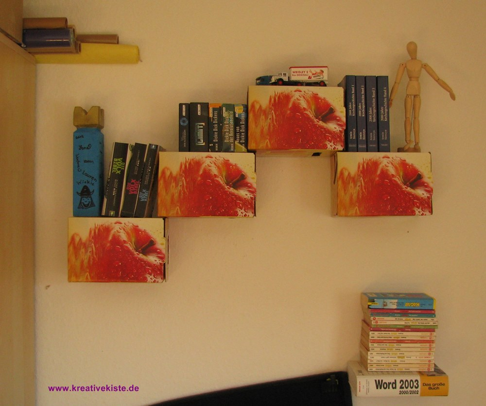 Bezaubernd Bücherregal Selber Bauen Kreativ Galerie Von 3-kreative-regale-selber-bauen