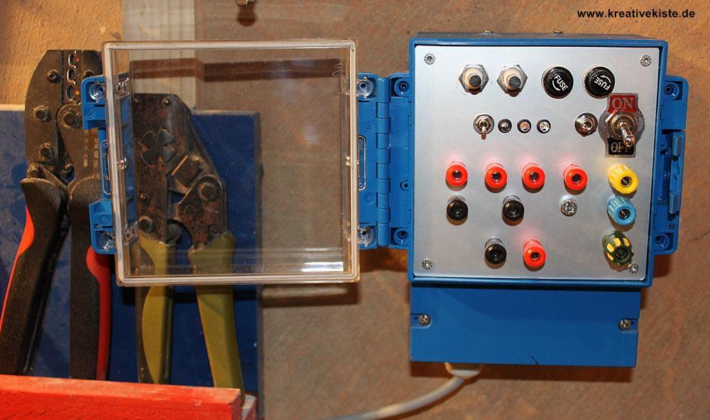 Labornetzteil eigenbau – Lichtschalter beschriftung