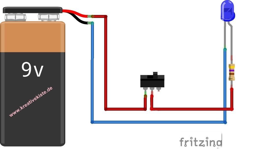 Beste Led Schaltplan Mit Schalter Fotos - Elektrische Schaltplan ...