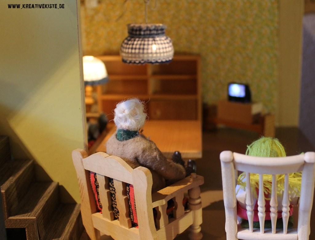 puppenhaus tv. Black Bedroom Furniture Sets. Home Design Ideas