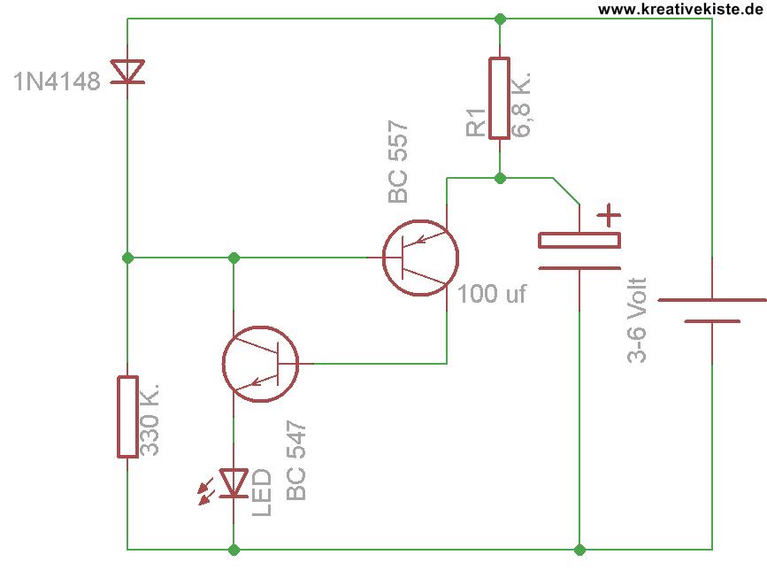 Fein Automatische Straßenbeleuchtung Mit Ldr Und Transistor ...