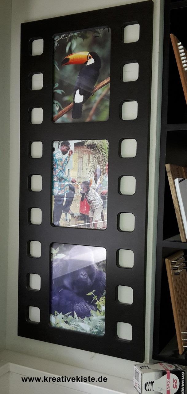 Bilderrahmen Selber Machen Aus Papier ~ Alternativen Bilderrahmen in Filmstreifen Optik