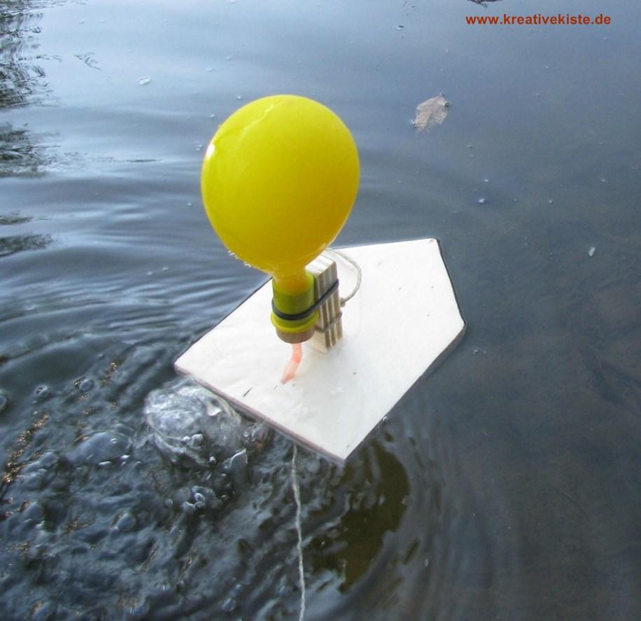 Luftballon Boot