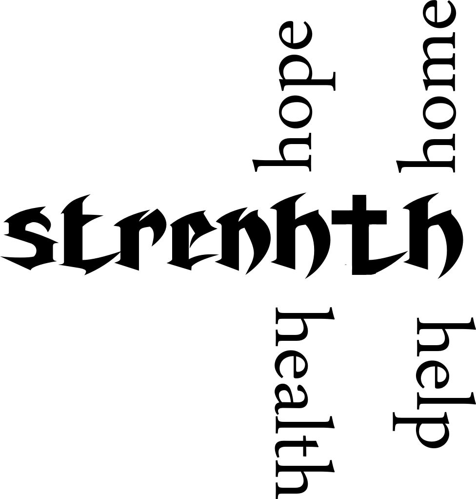 strength tattoo staerke