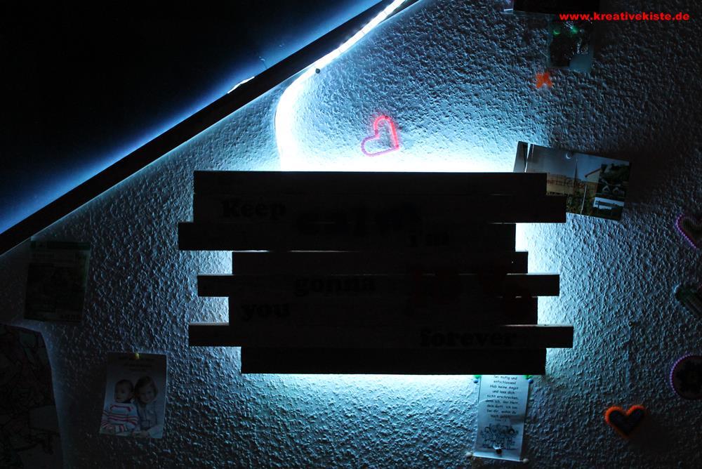 upcycling led holz lampe. Black Bedroom Furniture Sets. Home Design Ideas