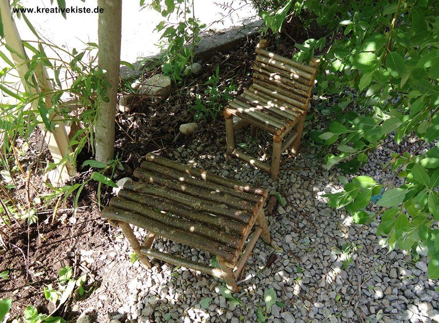 Möbel Aus ästen Selber Bauen buschhöhle für kinder