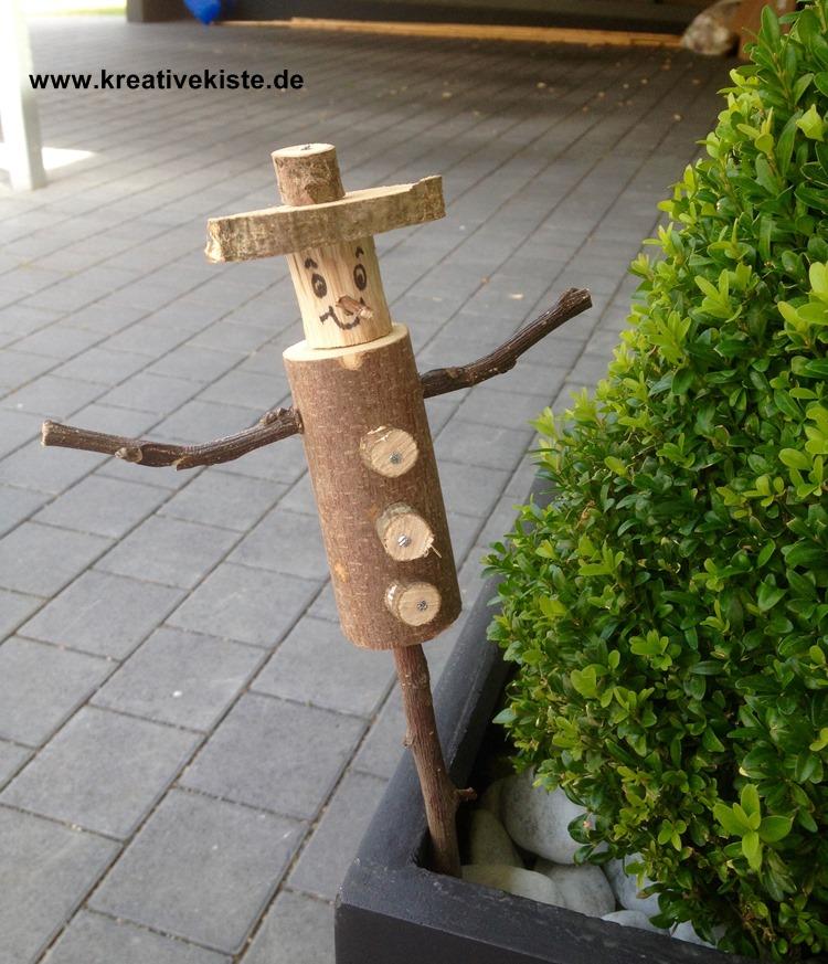 Holz Blume