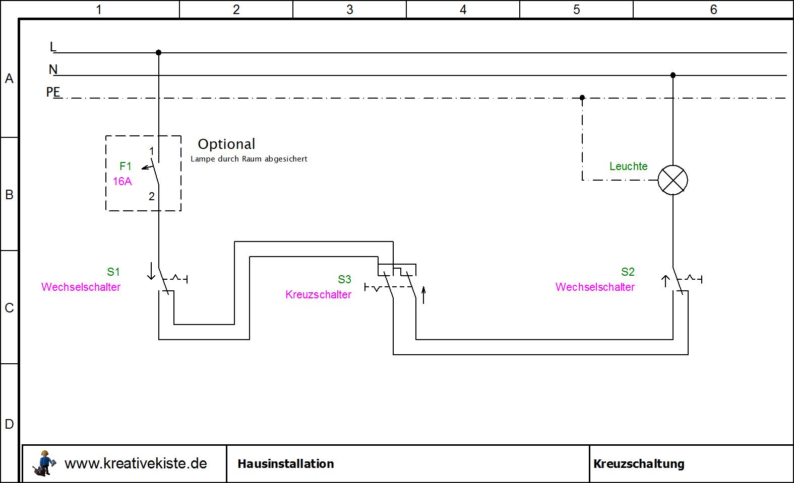Hausinstallation Schaltplane