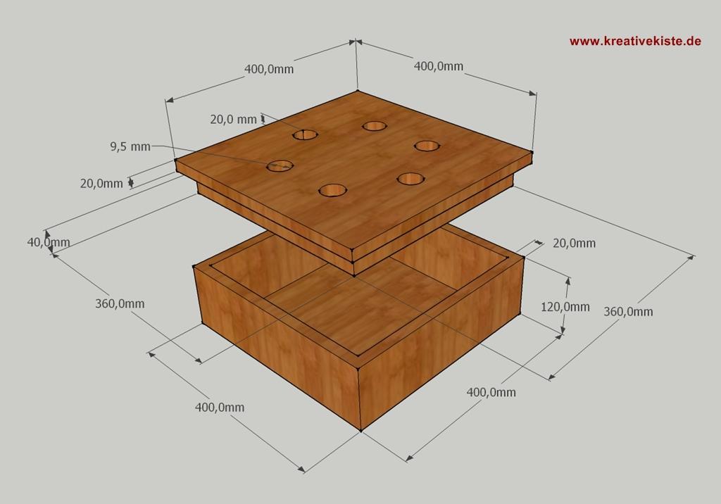 Holz Spiel 6 Raus
