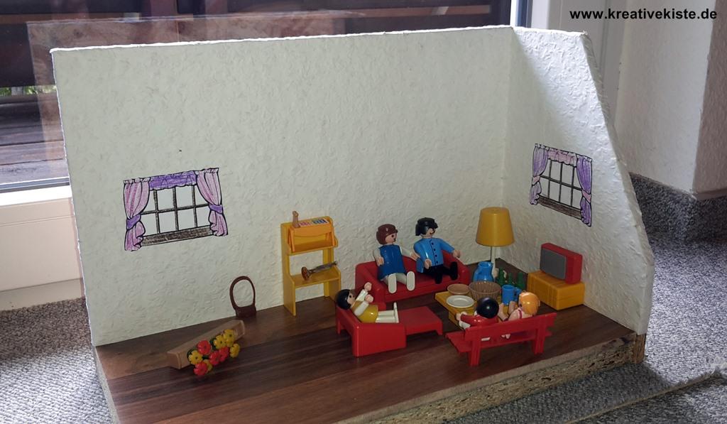 Schleich und playmobil holz haus bauen - Wohnzimmer selber bauen ...