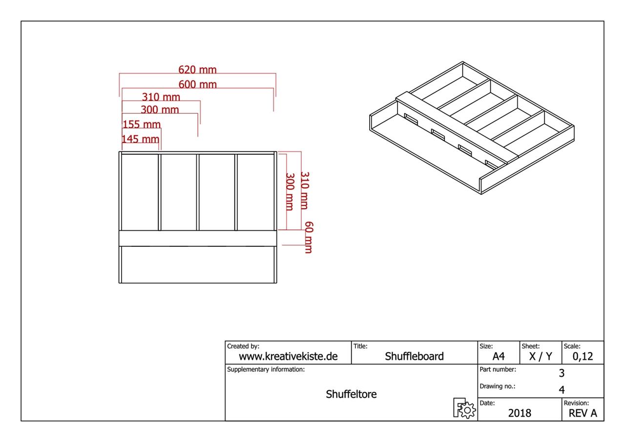 shuffleboard selber bauen