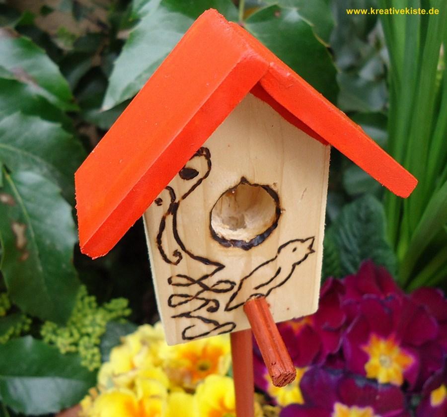 vogelhaus dekoration