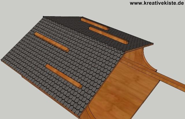 einfaches futterhaus. Black Bedroom Furniture Sets. Home Design Ideas